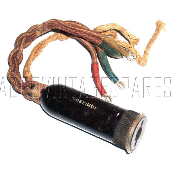 10H/2206 - Type 359 Radio lead socket from pilot's helmet jack plug