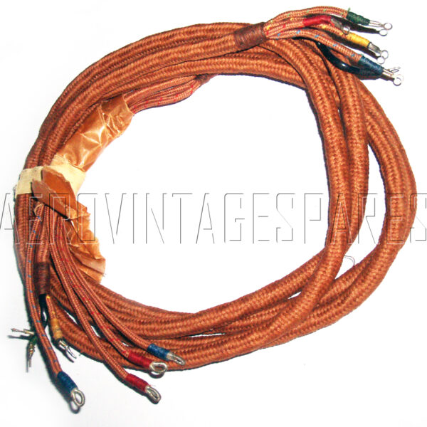 10HB/16458 Pilot's soft helmet loom (we do not know what type of helmet this is fitted to; if anyone knows, please advise us!).