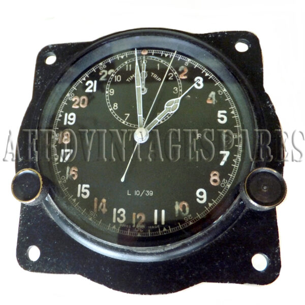 """1938 Clock with Time Trip The clock is in working order, with high quality movement, flush fitting with diameters of 3"""" and time of trip.  Should you prefer base mounted clocks we can assist you with that as well."""