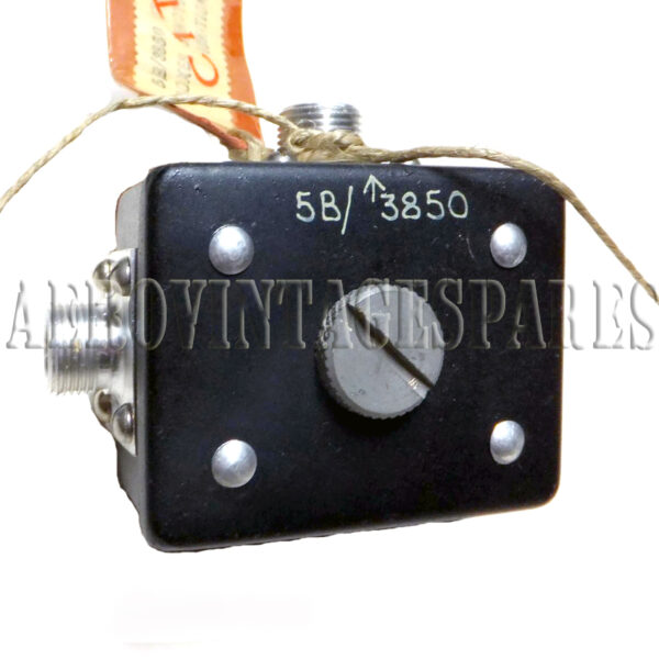 5B/3850 Junction Box, ignition fitted to Spitfire aircraft, but where we do not know but it apears in the Appendix A for Mk. 18, 19, 21, 22 and 24