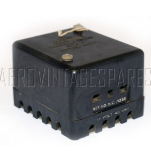 5C/1256 - Accumulator Cut Out Type D, Ex mod Military electrical spares and aircraft Spare parts
