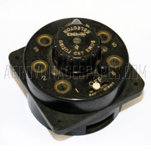 5C/1363 - Fusing Selector, Ex mod Military electrical spares and aircraft Spare parts