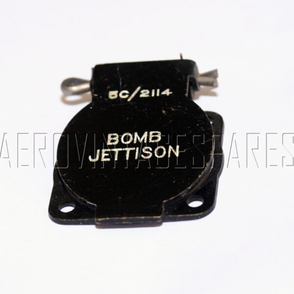 5C/2114 - Switch Cover Flap, Ex mod Military electrical spares and aircraft Spare parts