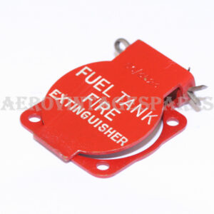 5C/3523 - Fuel Tank fire extinguisher switch cover flap. Ex mod Military electrical spares and aircraft Spare parts