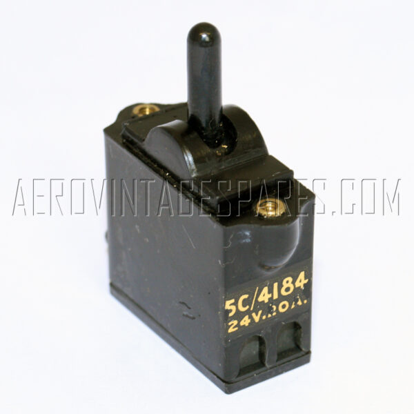5C/4184 - Switch Tumbler, Ex mod Military electrical spares and aircraft Spare parts