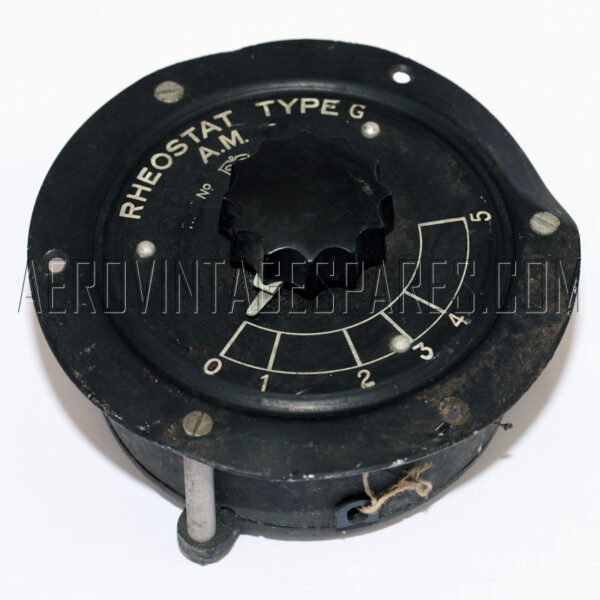 5C/908 - Rheostat, Ex mod Military electrical spares and aircraft Spare parts