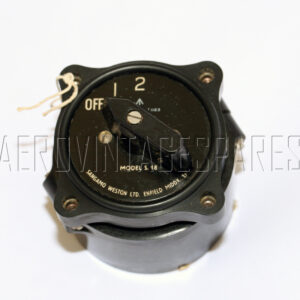 5CW/1163 - Switch Rotary, Ex mod Military electrical spares and aircraft Spare parts