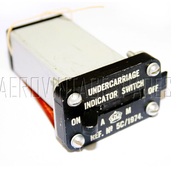 5CW/1974 - Switch Undercarriage Indicator, Ex mod Military electrical spares and aircraft Spare parts