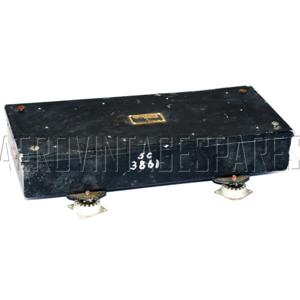 5CW/3861 - Relay Box, Ex mod Military electrical spares and aircraft Spare parts