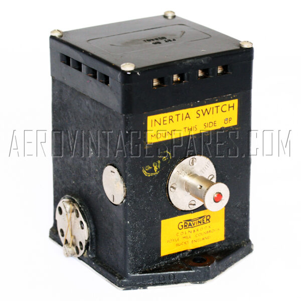 5CW/3955 - Inertia Switch, Ex mod Military electrical spares and aircraft Spare parts