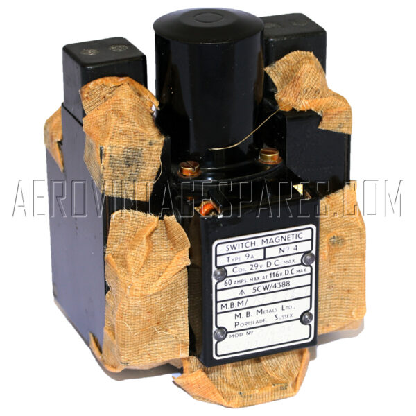 5CW/4388 - Contactor, Ex mod Military electrical spares and aircraft Spare parts