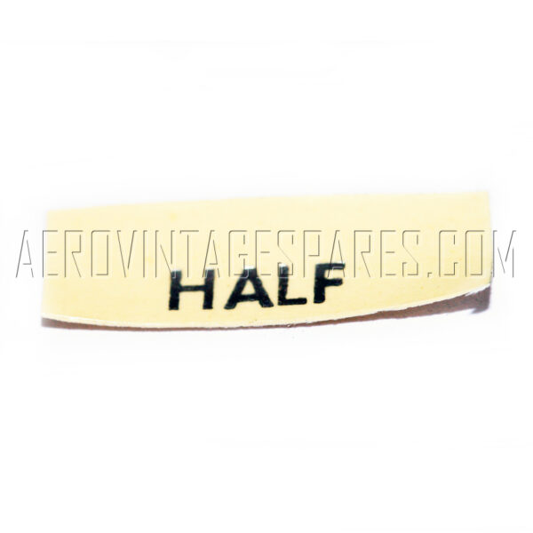 5CW/4489 - Transfer 'half', Ex mod Military electrical spares and aircraft Spare parts
