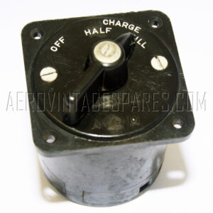 5CW/651 - Switch Rotary, Ex mod Military electrical spares and aircraft Spare parts