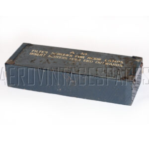 5CX/2050 - Box Stowage For filler screen, Ex mod Military electrical spares and aircraft Spare parts