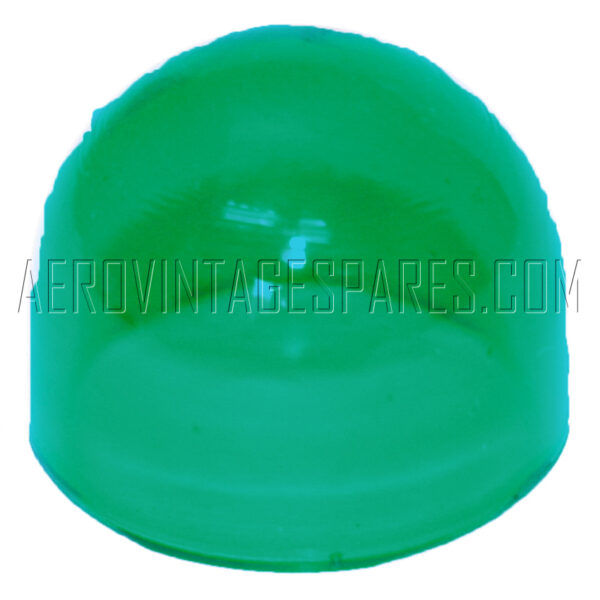 5CX/497 - Glasses Green, for Tail Lamp Type A, spare for 5CX/496 (see 5CX/490 for sealing ring)