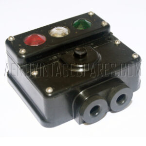 5CX/779 - Selector Box, ex MOD military electrical spares and aircraft spare parts