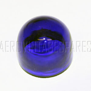 5CX/805 - Glass blue, ex MOD military electrical spares and aircraft spare parts