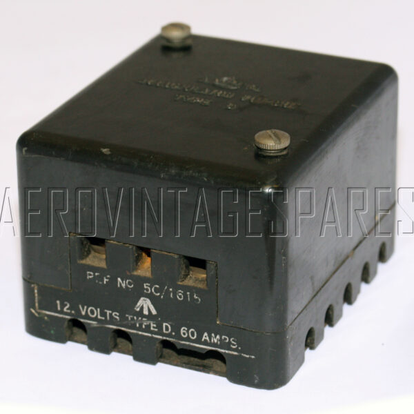 5CY/1615 - Cut Out Accumulator, Ex mod Military electrical spares and aircraft Spare parts