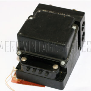 5CY/2854 - Cut Out Accumulator, Ex mod Military electrical spares and aircraft Spare parts