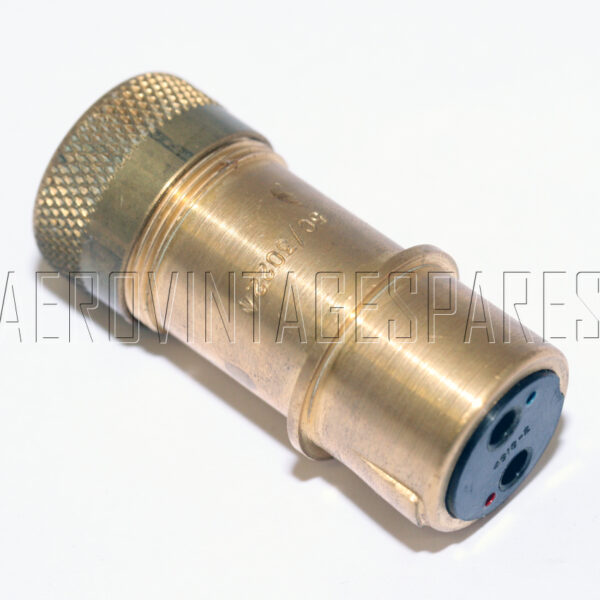 5CY/3022 - Socket Type 5 2 Pole No. 4, Ex mod Military electrical spares and aircraft Spare parts