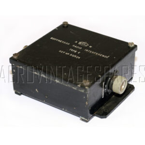 5CY/874 - Suppressor Type 4, Ex mod Military electrical spares and aircraft Spare parts