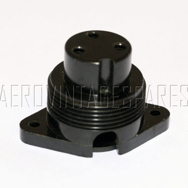 5CY/892 - Socket Type F, 3 Pole, Ex mod Military electrical spares and aircraft Spare parts