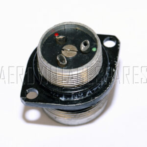 5CY/938 - Plug Type S 3 Pole, Ex mod Military electrical spares and aircraft Spare parts