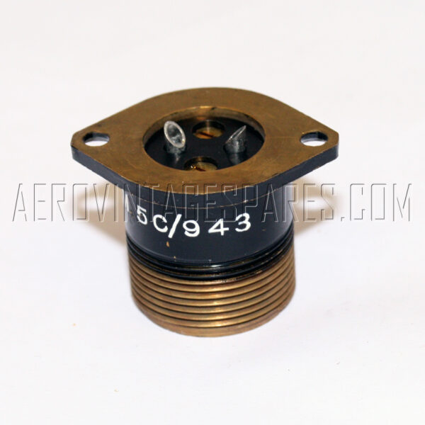 5CY/943 - Plug Shroud, Ex mod Military electrical spares and aircraft Spare parts