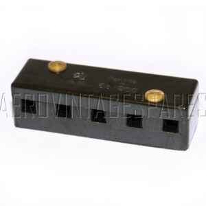 5CZ/868 - Block Terminal B 5 Way, Ex mod Military electrical spares and aircraft Spare parts