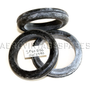 """5K/2980 - (SP40 B56) Grommet, Rubber  Panel hole size: 2"""" Panel thickness: 0.070"""" DO: 2.375"""" ID: 1.75"""" Thickness: 0.446"""""""