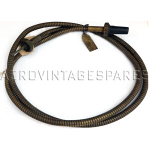 """6A/57 - Flexible drive, Rev Counter Cable, 5ft  Electro Plated £165.00 Brass £181.50  This item is made to order and is therefore non returnable.  ---  We have limited stock of wartime manufacture cables, please see individual listings.  We can make up rev counter cables to any length you require, electro tinned flexible elements or brass. Below are the standard Air Ministry sizes with their reference, but we can also make up any length to your requirement.   The price of non-standard sizes depends on the length; please enquire.  6A/1488           3'  6A/192             4' 6""""     6A/146             3' 6A/57               5'         6A/188             2' 6A/59               6' 6A/187             1' 6"""" 6A/188             1 ft 6A/189             2' 6"""" 6A/146             3 ft 6A/191             4 ft 6A/64               7 ft 6A/66               8 ft 6A/68               9 ft 6A/70               10 ft 6A/110             11 ft 6A/404             12 ft 6A/678             14 ft 6A/75               15' 6"""" 6A/77               22 ft 6A/148             27' 6"""""""