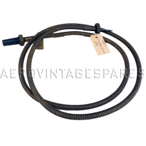 """6A/59 - Flexible drive, Rev Counter Cable, 6ft (Hurricane & Spitfire)  Standard Air Ministry rev counter cable.  Electro Plated £220.00 Brass £242.00  This item is made to order and is therefore non returnable.  ---  We have limited stock of wartime manufacture cables, please see individual listings.  We can make up rev counter cables to any length you require, electro tinned flexible elements or brass. Below are the standard Air Ministry sizes with their reference, but we can also make up any length to your requirement.   The price of non-standard sizes depends on the length; please enquire.  6A/1488           3'  6A/192             4' 6""""     6A/146             3' 6A/57               5'         6A/188             2' 6A/59               6' 6A/187             1' 6"""" 6A/188             1 ft 6A/189             2' 6"""" 6A/146             3 ft 6A/191             4 ft 6A/64               7 ft 6A/66               8 ft 6A/68               9 ft 6A/70               10 ft 6A/110             11 ft 6A/404             12 ft 6A/678             14 ft 6A/75               15' 6"""" 6A/77               22 ft 6A/148             27' 6"""""""