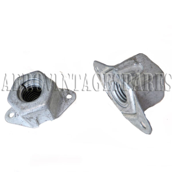 """AGS 2012-N 1/2"""" BSF Anchor Nut.  Thick, fixed nut, cadmium plated in excellent condition.  Ex surplus"""