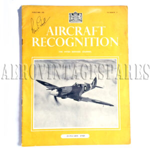 ;Aircraft Recognition Vol. II No. 5 January 1945' is part of 'The Inter-Services Journal'.