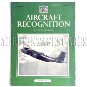 'Aircraft Recognition Vol. III No. 8 April 1945' is part of 'The Inter-Services Journal'.