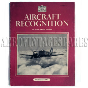 'Aircraft Recognition Vol. III No. 3 November 1944' is part of 'The Inter-Services Journal'.