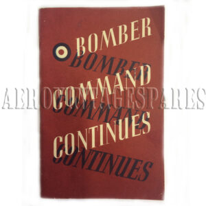 'Bomber Command Continues' The Air Ministry Account of the Rising Offensive Against Germany July 1941 - June 1942. Issued for the Air Ministry by the Ministry of Information. Published by London: His Majesty's Stationery Office. 'Bomber Command Continues' is the Air Minisry account of a growing assault at the heart of the enemy.  Beginning June 1941, it tells of the men and their aircraft, daylight sorties and night operations.  It ends with the 1000-bomber raids on Cologne and the Ruhr.