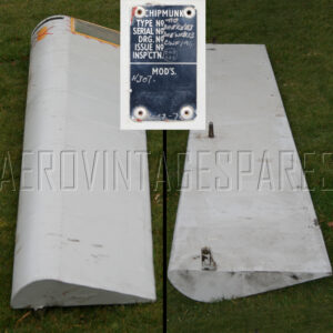 Used aileron; will require re-covering but seems in good order, though slight bend in trailing edge (easily corrected)  £375.00 as it is, but we can re-cover and repair this for a reasonable sum if required, in Ceconite or Irish Linen.