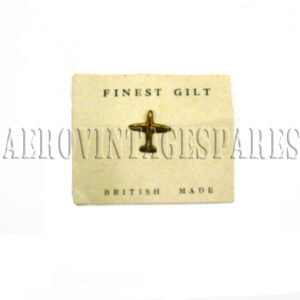 Finest gilt, British made Spitfire pin  Spitfire Fund