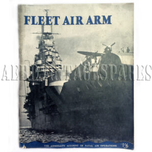 'Fleet Air Arm', The Admiralty Account of Naval Air Operations