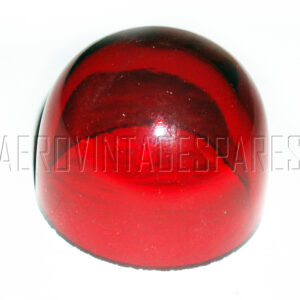 5CX/493 - Glasses Red, for Tail Lamp Type A, spare for CX/492 (see 5CX/490 for sealing ring)