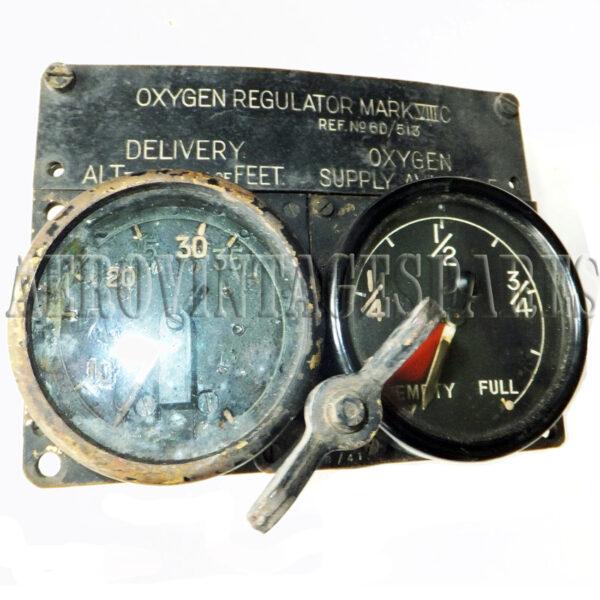 Oxygen Regulator Mk VIII C