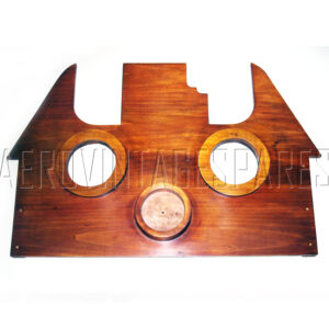 Sopwith Camel - Instrument panel Part no. C.2061  made from original drawings and in the correct and very hard to find bass wood. Complete with holes for the major instruments.