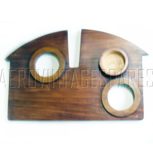 Sopwith Pup - Instrument Panel  Made from bass wood exactly as specified, complete with reinforcing battens and holes for main 1st WW instruments (these can be left out if required). Finished in Shellac.  Currently out of stock but we can make to order.