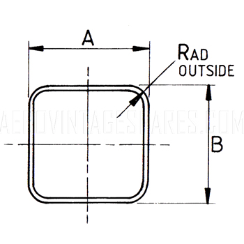 Square Rolled Aircraft Sections