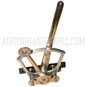 Twin Tampier throttle lever assembly for rotary engines. *OUT OF STOCK*
