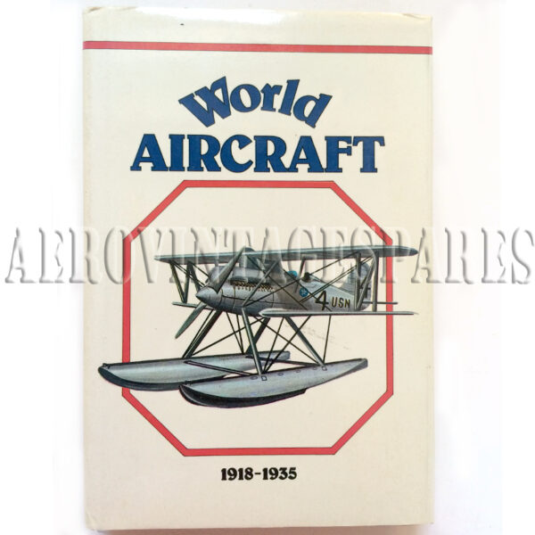 'World Aircraft 1918-1935' by Enzo Angelucci and Paolo Matricardi.  Published by Book Club Associates. This book provides a comprehensive and well-documented history of early aviation.  This second volume in the series, 1918-1935, includes 180 aeroplanes and dirigibles whitch were in service during the period; from the seaplane which began the first regular passenger service, Benoist XIV to the famous Douglas DC 3.  Each entry is illustrated in full colour and there are also many additional diagrams, charts and maps.
